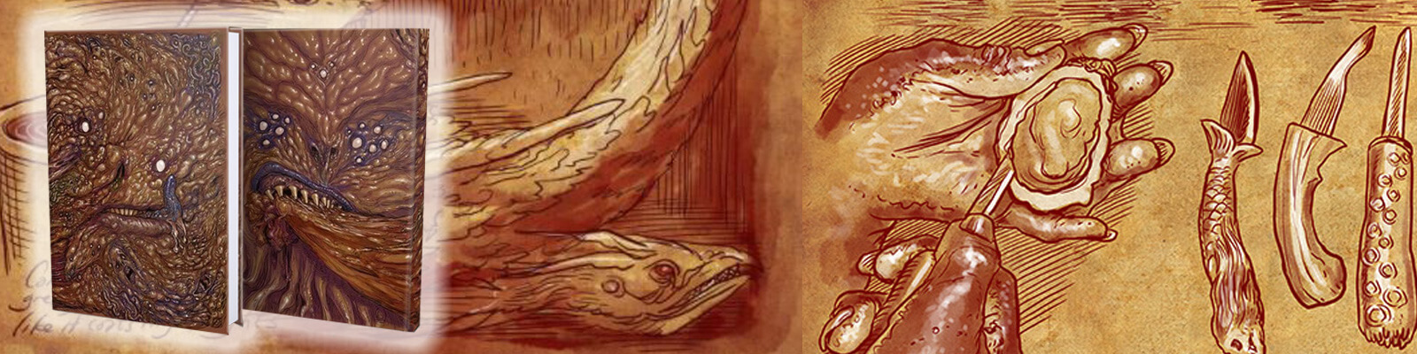 The Necronomnomnom - A Cookbook of Eldritch Horror